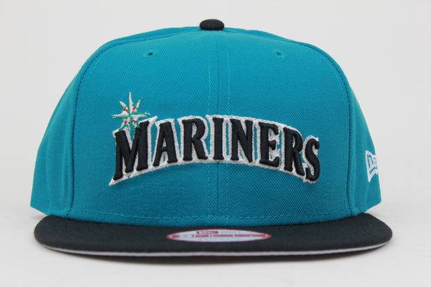 SEATTLE MARINERS 2 TONE NEW ERA 9FIFTY SNAPBACK HAT