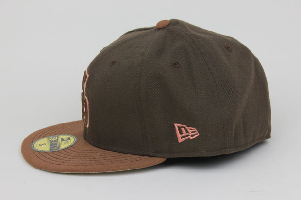 SAN DIEGO PADRES BROWN NEW ERA 59FIFTY FITTED HAT
