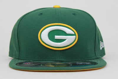 GREEN BAY PACKERS NEW ERA 59FIFTY FITTED HAT