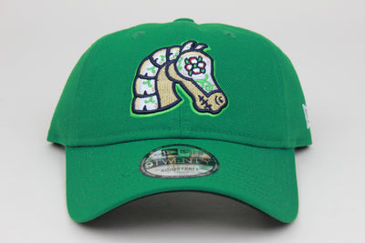 CABALLEROS DE CHARLOTTE (CHARLOTTE KNIGHTS) MiLB NEW ERA 9TWENTY ADJUSTABLE DAD HAT