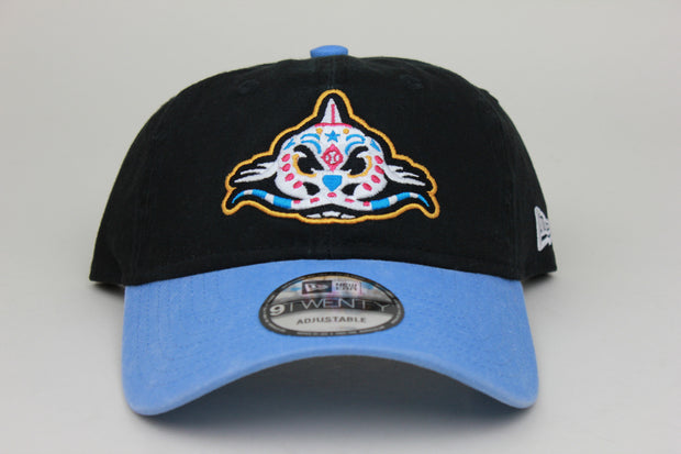 PESCADOS DE CAROLINA (CAROLINA MUDCATS) MiLB NEW ERA 9TWENTY ADJUSTABLE DAD HAT