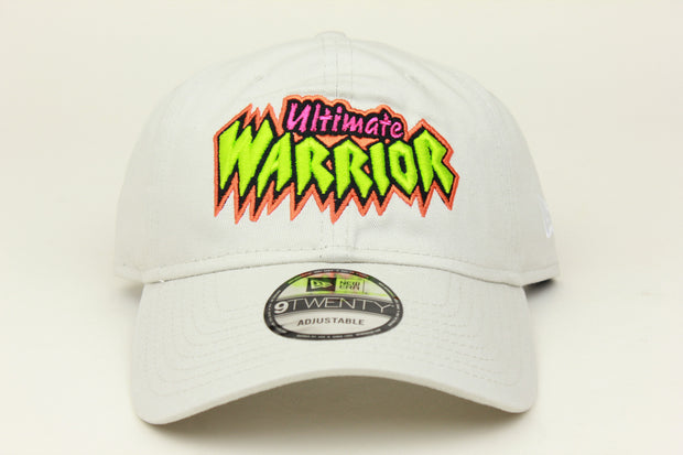 ULTIMATE WARRIOR STONE WWE NEW ERA 9TWENTY ADJUSTABLE DAD HAT