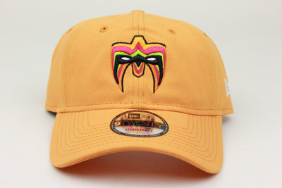 ULTIMATE WARRIOR ORANGE WWE NEW ERA 9TWENTY ADJUSTABLE DAD HAT