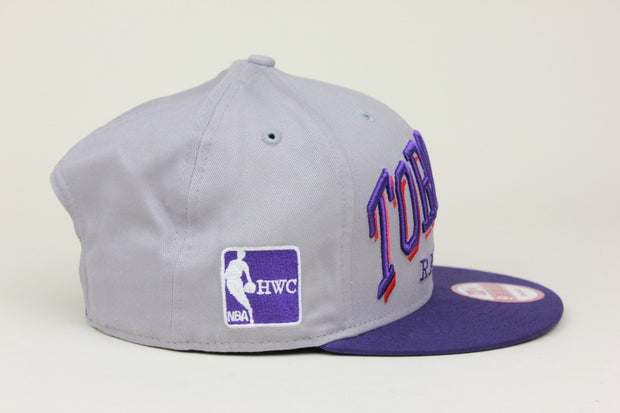 TORONTO RAPTORS HWC NBA NEW ERA 9FIFTY SNAPBACK HAT