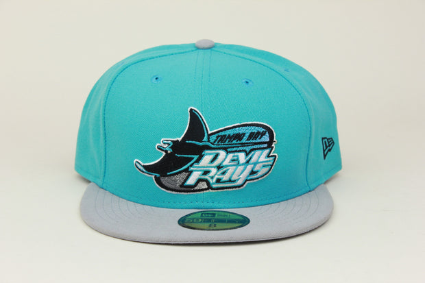 TAMPA BAY DEVIL RAYS CLASSIC LOGO NEW ERA 59FIFTY FITTED HAT