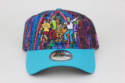 SCOOBY-DOO! SCOOBY AND FRIENDS PSYCHEDELIC NEW ERA 9TWENTY ADJUSTABLE DAD HAT