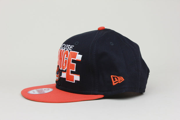 SYRACUSE UNIVERSITY ORANGE NEW ERA 9FIFTY SNAPBACK HAT