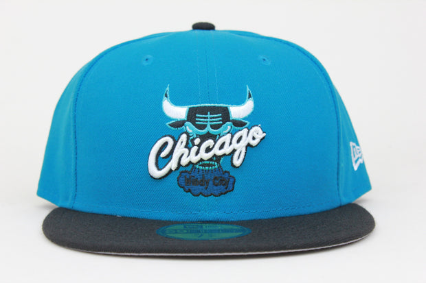 CHICAGO BULLS AIR JORDAN IV REMASTERED TROPICAL TEAL NEW ERA 59FIFTY FITTED HAT