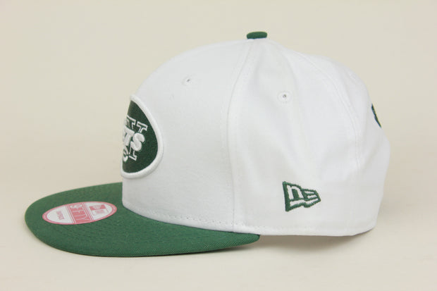 NEW YORK JETS 2 TONE NEW ERA 9FIFTY SNAPBACK HAT