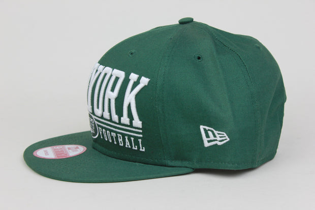 NEW YORK JETS BIG LOGO NEW ERA 9FIFTY SNAPBACK HAT