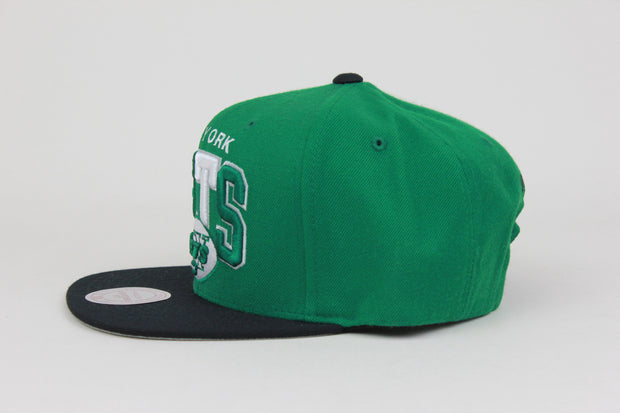 NEW YORK JETS MITCHELL & NESS ADJUSTABLE SNAPBACK HAT