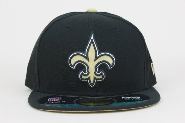 NEW ORLEANS SAINTS NEW ERA 59FIFTY FITTED HAT