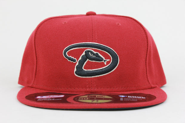 ARIZONA DIAMONDBACKS COOL BASE MADE IN USA NEW ERA 59FIFTY FITTED HAT