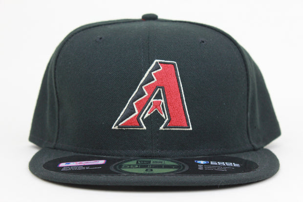 ARIZONA DIAMONDBACKS ON FIELD A LOGO NEW ERA 59FIFTY FITTED HAT