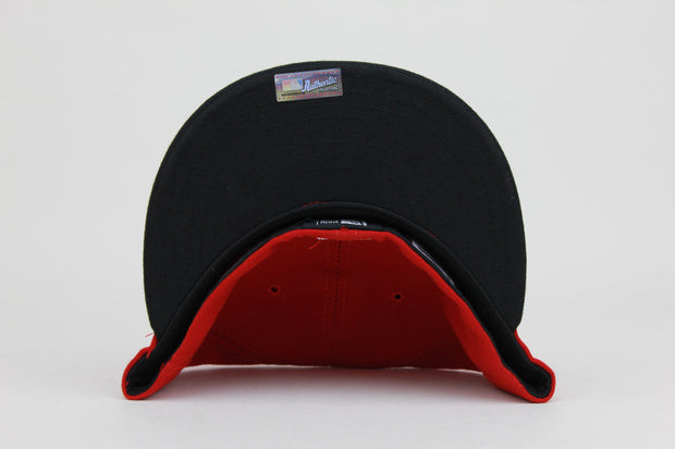 CINCINNATI REDS RED/BLACK NEW ERA 59FIFTY FITTED CAP