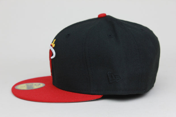 MIAMI HEAT CLASSIC NBA NEW ERA 59FIFTY FITTED HAT