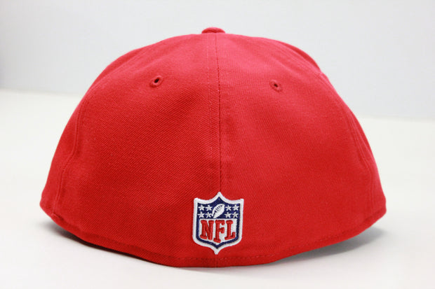 KANSAS CITY CHIEFS NFL ON-FIELD NEW ERA 59FIFTY FITTED HAT