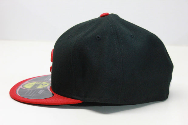 CINCINNATI REDS BRED 2 TONE ON-FIELD NEW ERA 59FIFTY FITTED CAP