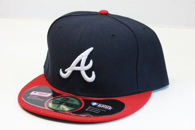 ATLANTA BRAVES CLASSIC 2 TONE ON-FIELD NEW ERA 59FIFTY FITTED CAP