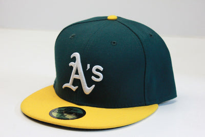 OAKLAND ATHLETICS A'S CLASSIC NEW ERA 59FIFTY FITTED HAT