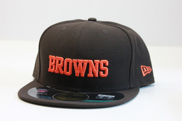 CLEVELAND BROWNS ONFIELD NEW ERA 59FIFTY FITTED CAP