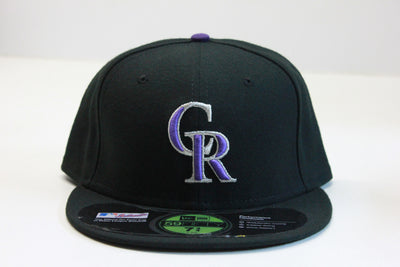COLORADO ROCKIES ON-FIELD NEW ERA 59FIFTY FITTED CAP
