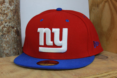 NEW YORK GIANTS 2 TONE NFL NEW ERA 59FIFTY FITTED HAT
