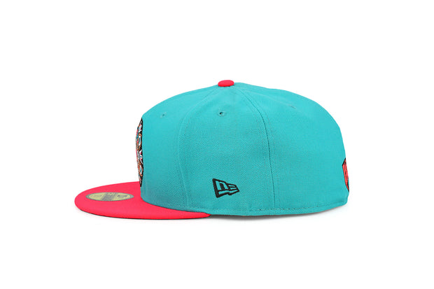 VANCOUVER GRIZZLIES FILAMENT / INFRARED BLISS NEW ERA FITTED CAP