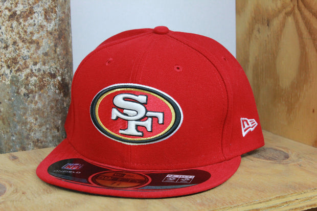SAN FRANCISCO 49ERS ONFIELD NFL NEW ERA 59FIFTY FITTED HAT