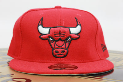 2731e14dee3 CHICAGO BULLS MADE IN USA NBA NEW ERA 59FIFTY FITTED HAT
