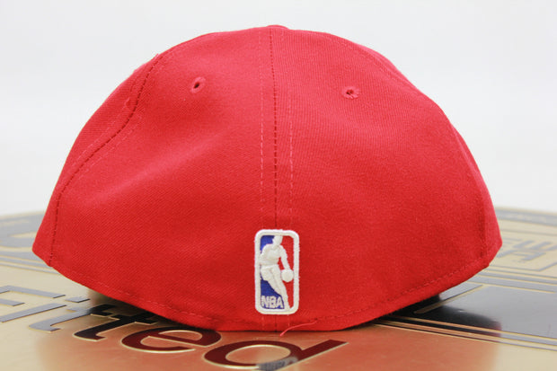 CHICAGO BULLS MADE IN USA NBA NEW ERA 59FIFTY FITTED HAT