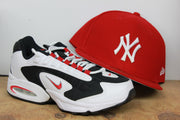 NEW YORK YANKEES RED NEW ERA 59FIFTY FITTED CAP