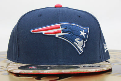 NEW ENGLAND PATRIOTS SALUTE TO SERVICE DIGI CAMO NEW ERA 59FIFTY FITTED HAT