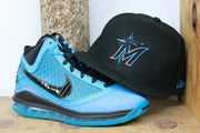 MIAMI MARLINS NIKE LEBRON 7 ALL STAR 2020 NEW ERA 59FIFTY FITTED CAP