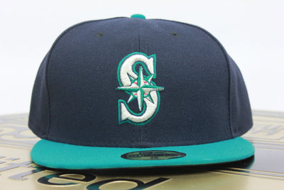 SEATTLE MARINERS CLASSIC NEW ERA 59FIFTY FITTED HAT