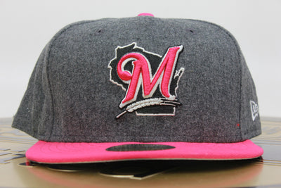 MILWAUKEE BREWERS MELTON NEW ERA 59FIFTY FITTED HAT