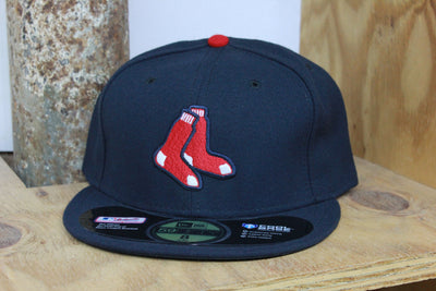 BOSTON RED SOX PERFORMANCE TECH NEW ERA 59FIFTY FITTED CAP