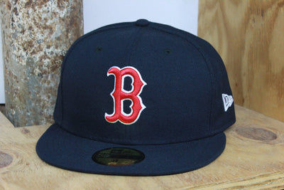 BOSTON RED SOX B LOGO NEW ERA 59FIFTY FITTED CAP