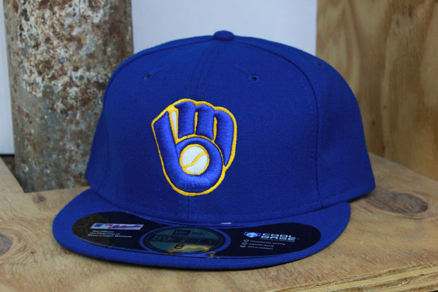 MILWAUKEE BREWERS ON-FIELD NEW ERA 59FIFTY FITTED CAP