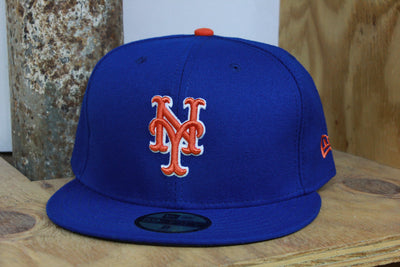 NEW YORK METS CLASSIC NEW ERA 59FIFTY FITTED CAP