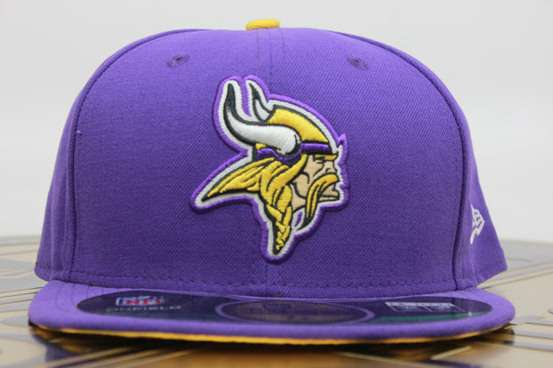 MINNESOTA VIKINGS ON FIELD NE TECH NEW ERA 59FIFTY FITTED HAT