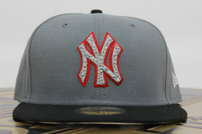 9185ebf60034d NEW YORK YANKEES ELEPHANT AIR JORDAN 3 STEALTH NEW ERA 59FIFTY FITTED HAT