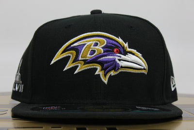 BALTIMORE RAVENS SUPER BOWL XLVII NEW ERA 59FIFTY FITTED HAT