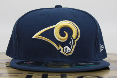 53f19309b96 ST. LOUIS RAMS ON FIELD NE TECH NEW ERA 59FIFTY FITTED HAT