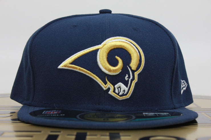 ST. LOUIS RAMS ON FIELD NE TECH NEW ERA 59FIFTY FITTED HAT