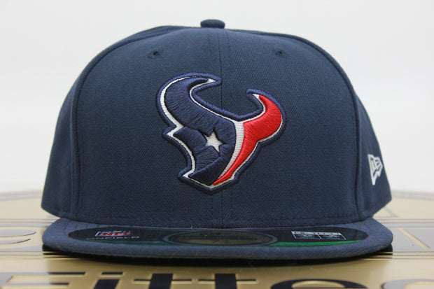 HOUSTON TEXANS ON FIELD NE TECH NEW ERA 59FIFTY FITTED HAT