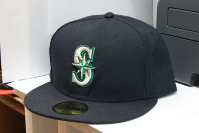 SEATTLE MARINERS CLASSIC NAVY NEW ERA 59FIFTY FITTED HAT