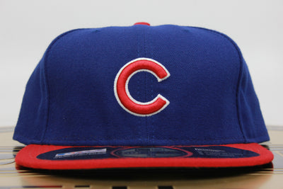 e97ff17539e CHICAGO CUBS MADE IN USA OFFICIAL ON-FIELD NEW ERA 59FIFTY FITTED HAT