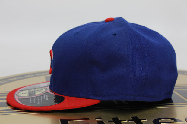 CHICAGO CUBS MADE IN USA OFFICIAL ON-FIELD NEW ERA 59FIFTY FITTED HAT