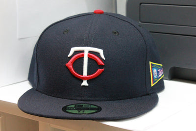 MINNESOTA TWINS 50TH ANNIVERSARY NEW ERA 59FIFTY FITTED CAP